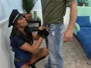 Policewoman Mia Lelani