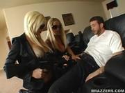 Blonde agents Puma Swede & Nikki Benz