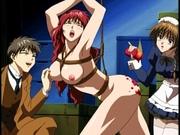 Master fucks slave and maid - hentai porn
