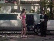 Tera Patrick making sex in a limo