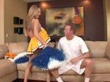Cheerleader allows to get fucked