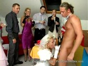 Czech wedding aka Bride & bridemaids fucking