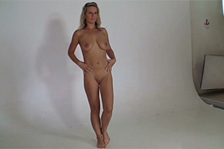 31 year old blonde Lucka at a casting - Czech porn
