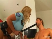 Strict police officer Shyla Stylez