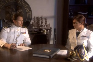 Sailor gives sexual pleasure to her commander