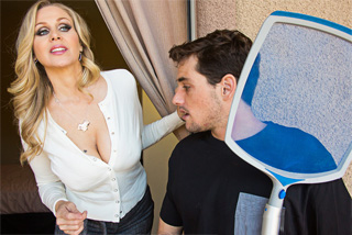 American milf offers to son's friend job and sex! (Julia Ann and Tyler Nixon)