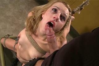 American BDSM sex, or torture of slave girl Lexi Belle!