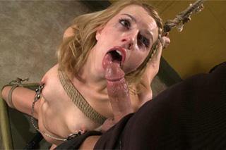 American BDSM sex, or torture of slave girl Lexi Belle!
