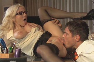 Anal colleague fucks Cristie Stevens