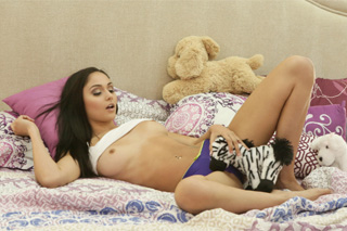 Ariana Marie: Masturbation with stuffed toys and sibling sex!