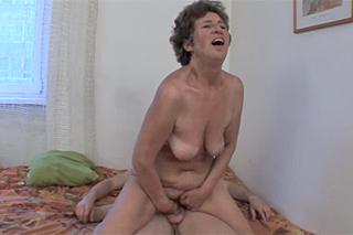 lesbické babička porno