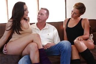 Extrémne Trojka sex