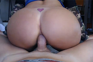 Blond mother with hard cock in her ass!