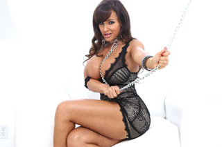 Divine Lisa Ann fucks in a submissive role, or soft BDSM with adult Superstar!
