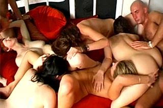 British couples are fucking ot a private swingers party!