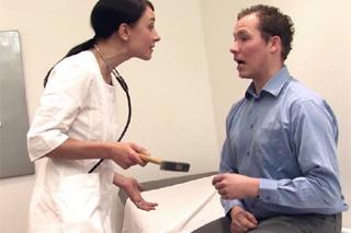 Czech doctor Valeria Jones forced to fuck by German patient!