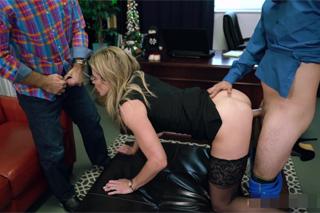 Cory Chase: Slavnostní trojka se sekretářkou!