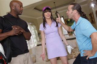 Dana Dearmond: Sexuální pomsta zhrzené ženy s trenérem golfu!