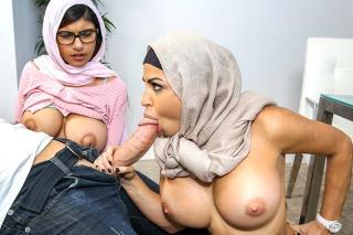 Dcera se rozdělí s matkou o penis svého přítele (Mia Khalifa, Juliana Vega)