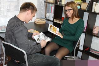 Deník Markétky: Náhodný sex s knihovníkem vedle odborné literatury