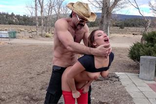 drsné Gay kovboj sex