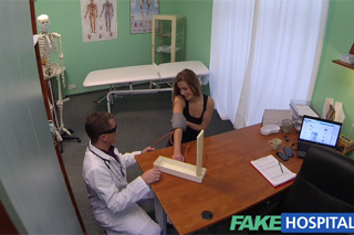 FakeHospital or fucking at the Czech clinic (Christina Gymnast)