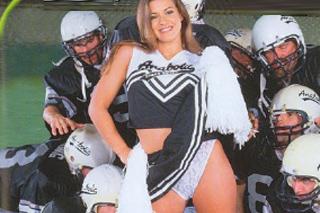 Fotbalový tým se vystřídá na roztleskávačce Kimberly Franklin