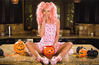 Halloween masturbation by Aaliyah Love