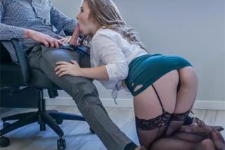 Lena Paul: Sexuální bonus pro nejlepšího obchodního zástupce!