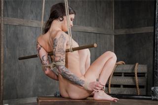 Luna Lovely se poddá nekompromisnímu drsňákovi - BDSM porno