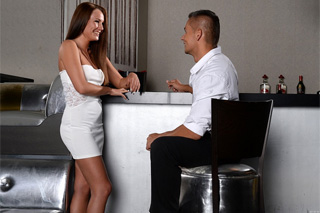 Hungarian Angel Blade: Sexual affair with bartender