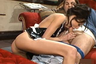Estate owner fucks a maid (Layla Rivera)