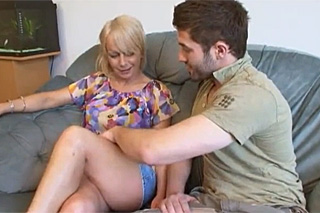 Unfaithful yount man fuck his hot mother-in-law  family porn
