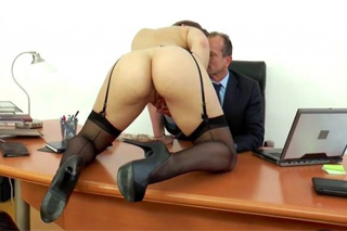Unchaste lady sleeps with a divorce lawyer! (Dani Daniels and George Uhl)