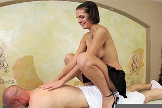 Intercourse with masseuse Rihannon Shy!