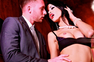 Sexual intercourse at an erotic nightclub (Megan Coxxx)