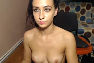 Wild chick fucking her boyfriend on webcam