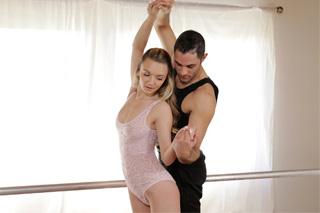 Ballet dancer fucks with his dancing partner
