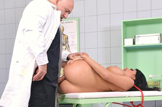 Doctor fucking Anissa Kate in the office