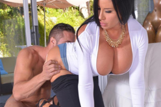 Hotel manager fucks busty mistress