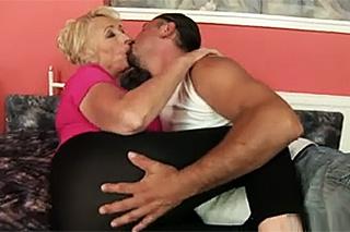 Bbw babička porno
