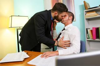 γραφείο γκέι σεξ βίντεο