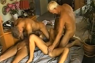 Family orgy: Granddad switches partners with his grandson