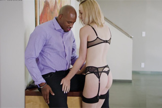 Divorced lady enjoys anal sex with a black realtor! (Lily Labeau and Flash Brown)