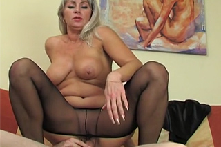 Russian milf seduces husband of her daughter!