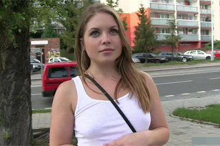 Public Agent in Czech streets (Alessandra)