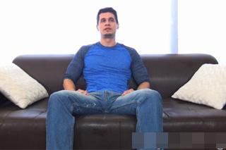 Sebevědomý kovboj na mužském castingu – gay porno