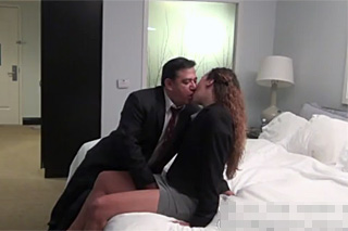 Sex on a business trip, or paunchy businessman with a young assistant