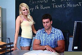učiteľ porno videoes Jada Stevens veľký penis