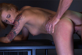 The sex slaveChantelle must agree with the orders- BDSM porn